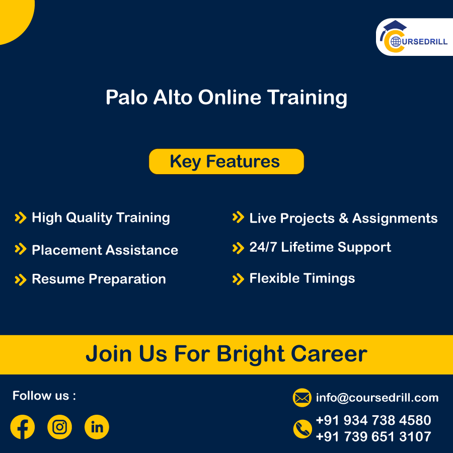 Palo Alto Training | Master #1 Network Security Tool | Enroll Now | CourseDrill